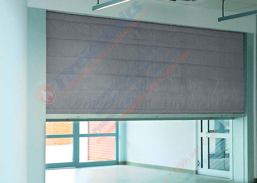 Installation of fire curtains