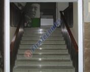 Фотографии экономичных противопожарных штор FireShield-EI120, Объект: Театр Эстрады, Габариты системы: 2,5 х 3 м.