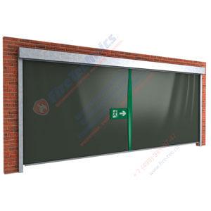 Противопожарные шторы EI120 (при орошении)