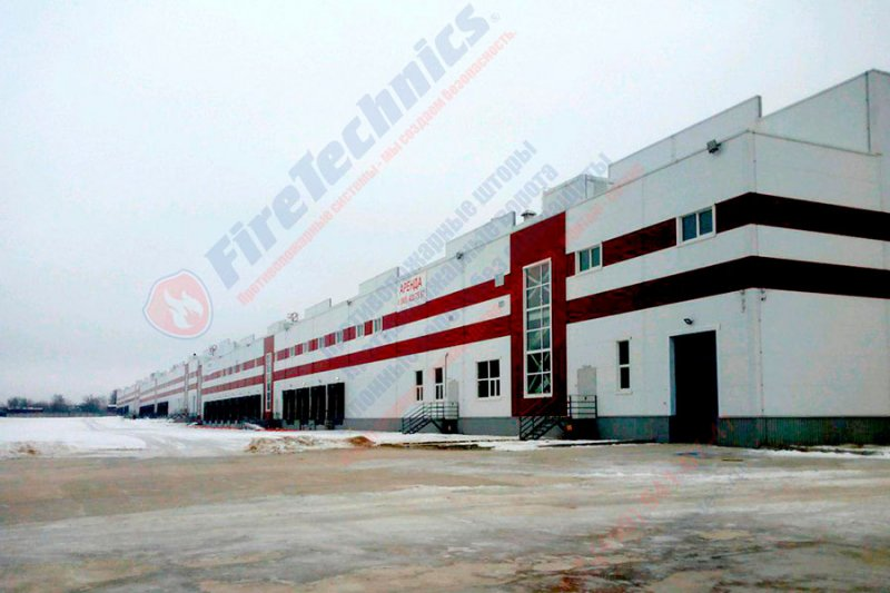 Finished projects of the company FireTechnics