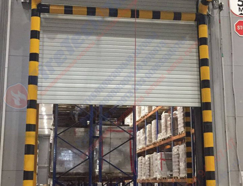 Fire rated rolling doors Firerollgate-EI60 in Logistics complex