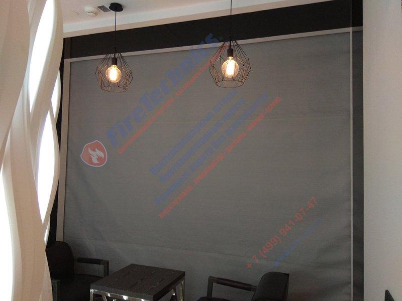 Противопожарные автоматические шторы в МФК Башня Федерации