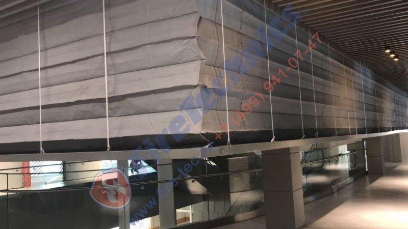Противопожарные автоматические шторы в EXPO ASTANA